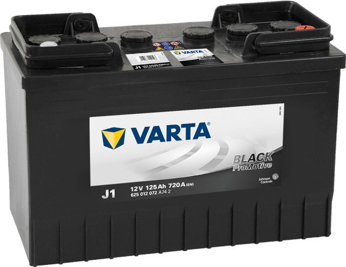 Varta Promotive Black 625012 125Ah/720 обратная ( -  + ) 349Х175Х290